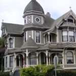 Group Queen Anne Style Architecture Heart