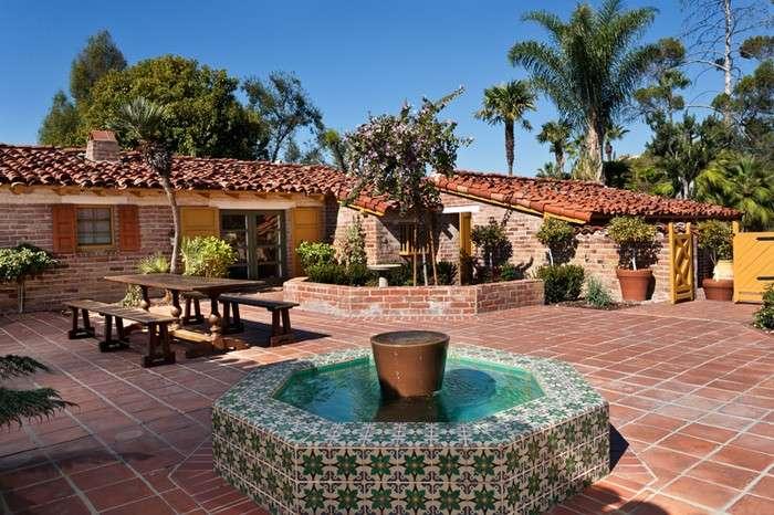 Hacienda Style Ranch Home