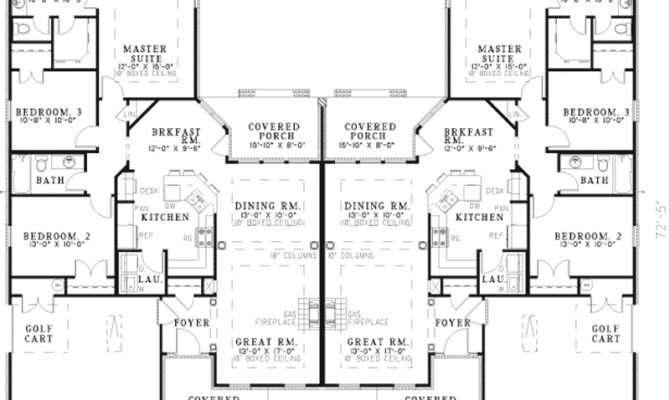 Haldimann Classic Duplex Plan House Plans More