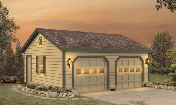Halima Two Car Garage Plan House Plans More