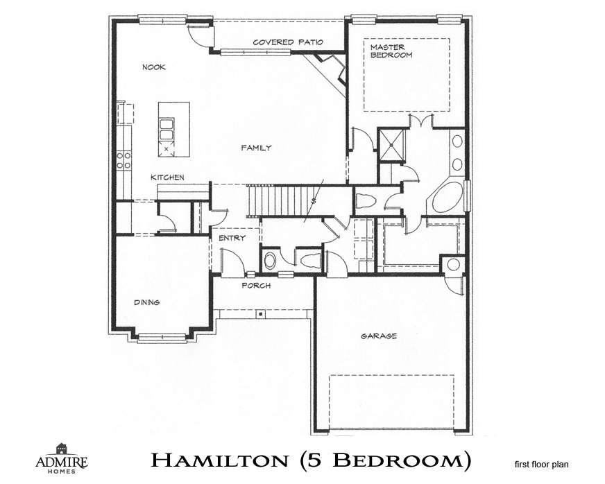 Hamilton Bedrooms Admire Custom Homes