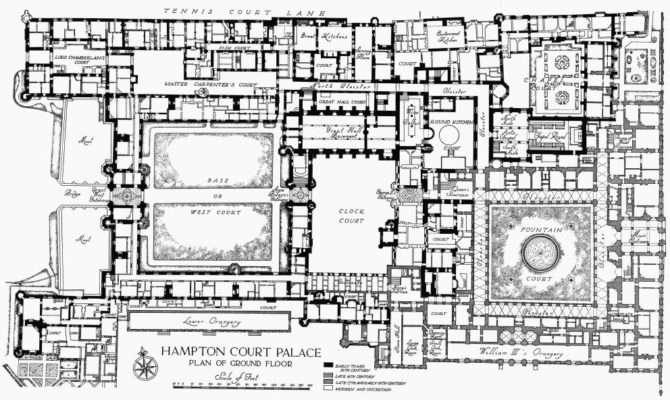 Hampton Court Palace Plan Ground Floor