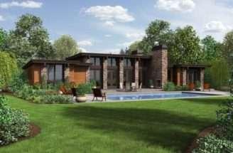 Hampton Home Plan Boasts Amazing Outdoor Patio Just