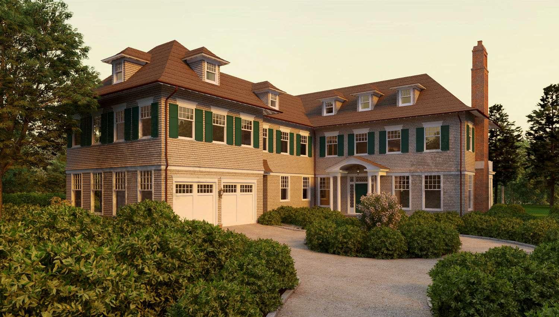 Hampton Shingle Style House Plans