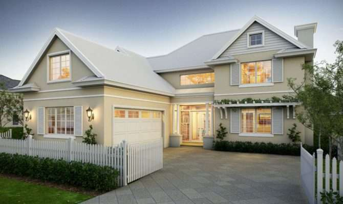 Hampton Style House Plans Australia Favorite Places