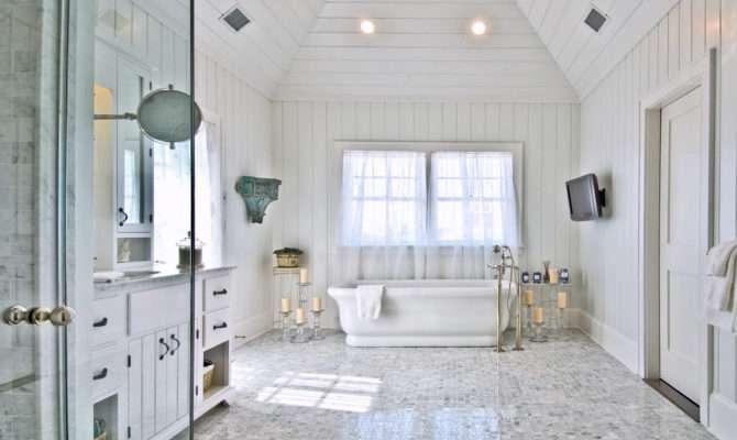 Hamptons Beach House Bathroom Habitat