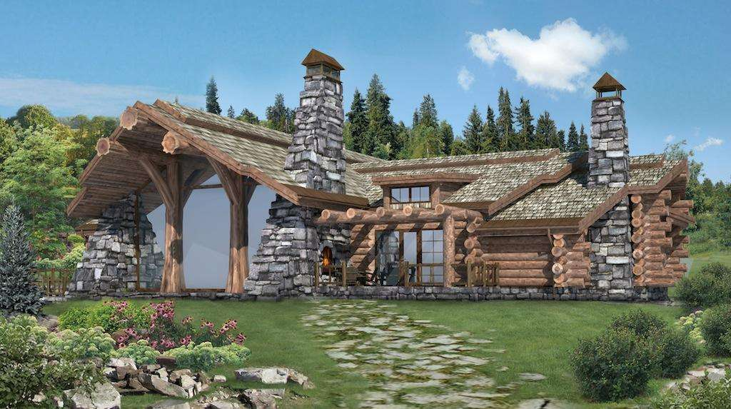 Handcrafted Log Homes Cabins Canadian Chalet