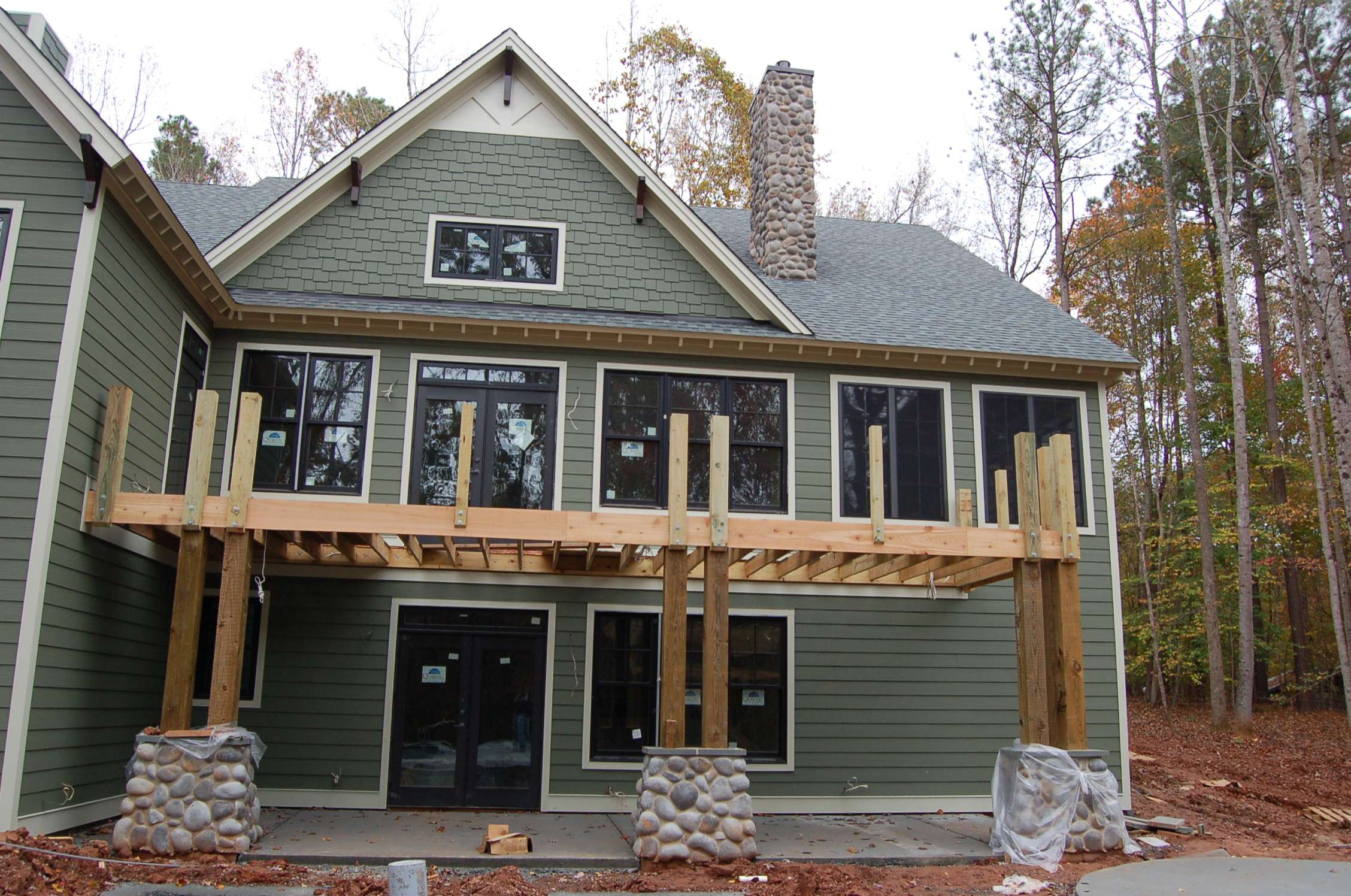 Hard Surfaces Modern Craftsman Style Home