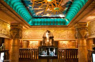 Harrods Ancient Egyptian Interior Theme London England