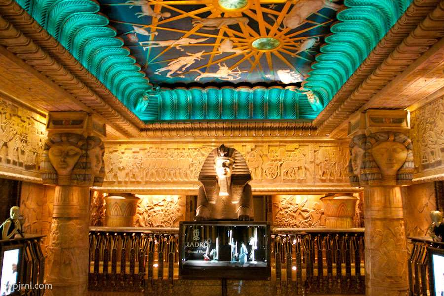 Harrods Ancient Egyptian Interior Theme London England