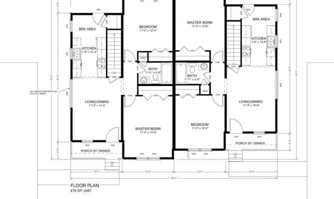 Hatfield Duplex Huntington Homes