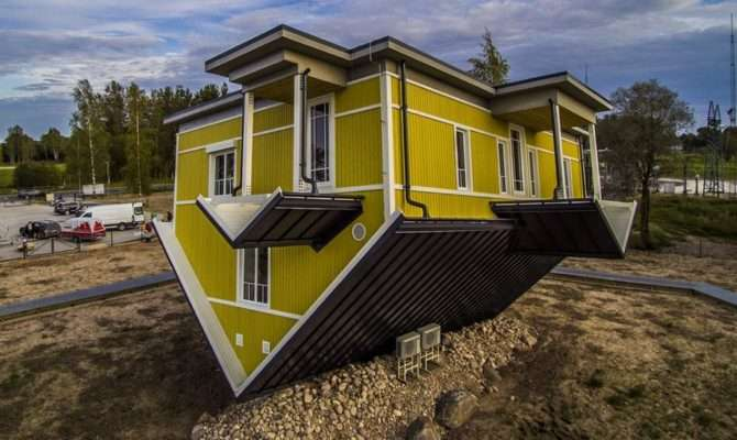 Haus Build Unique Upside Down House