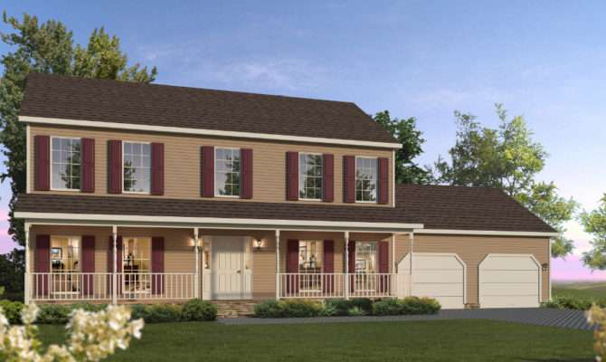 Hayley Two Story Style Modular Homes