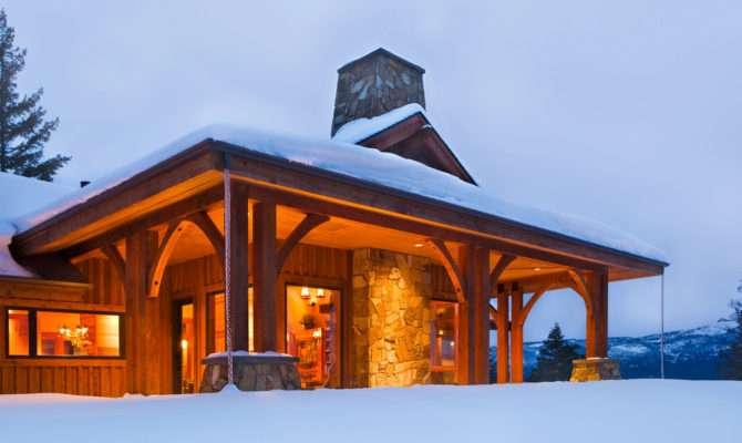 Hendricks Architecture Idaho Small Mountain Home Coeur Alene