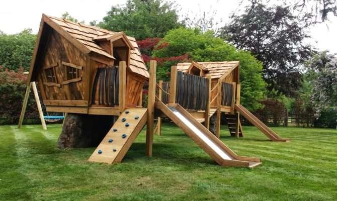Henley Oak Treehouse Enchanted Creations Playhouses Treehouses