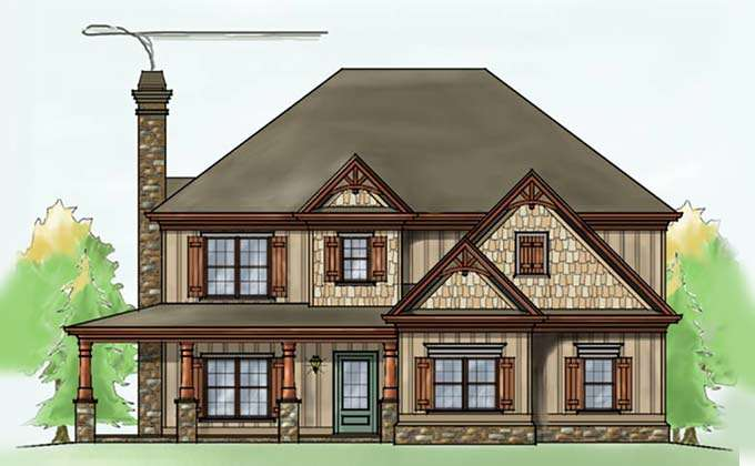 Here Home House Plans Lake Eufala Retreat Plan