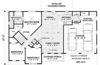 Hidden Room House Plans Floor
