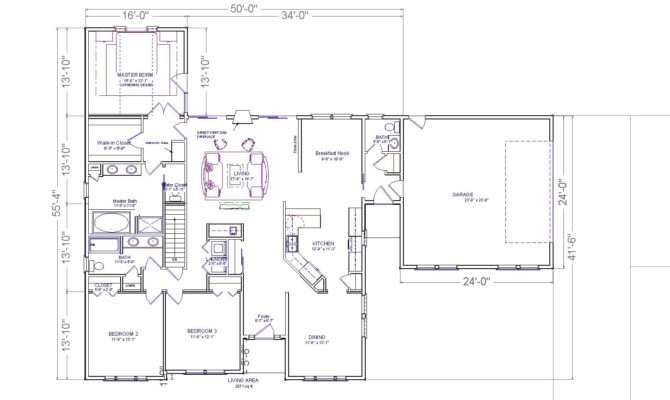 High Home Addition Plans Ranch