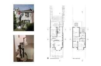 Highgate Haringey House Extension Lower Floor Plans
