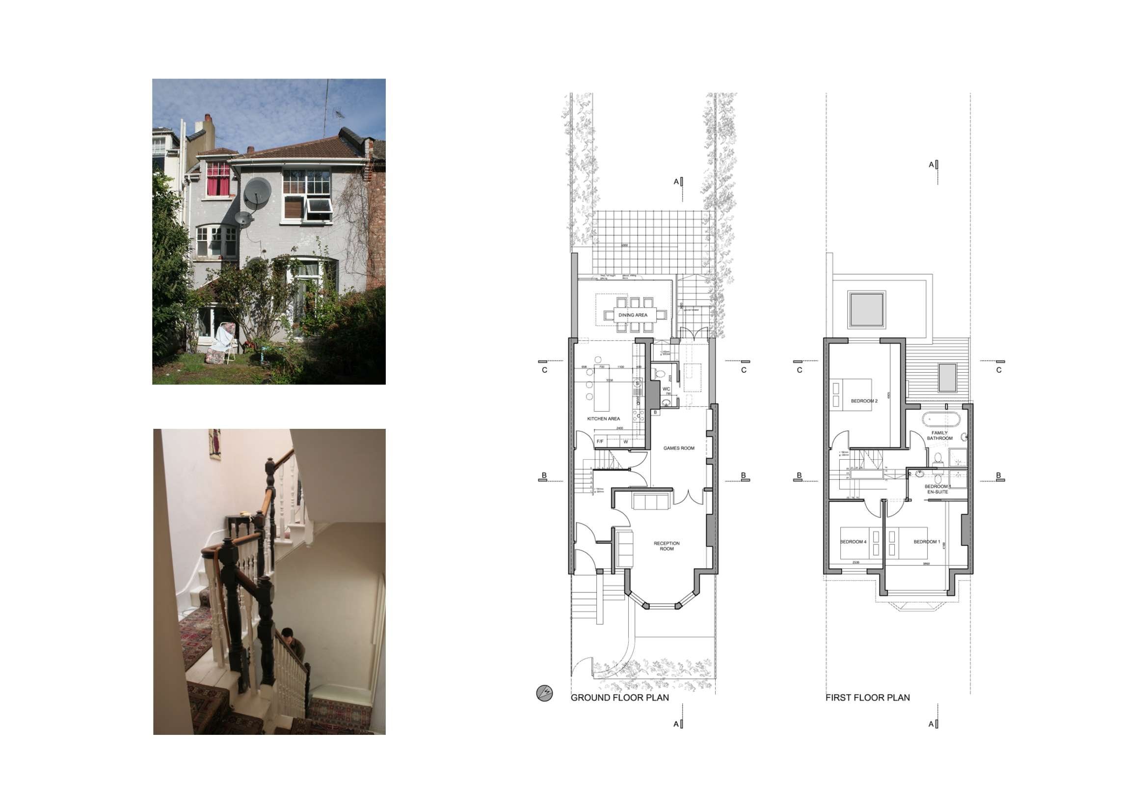 Highgate Haringey House Extension Lower Floor Plans