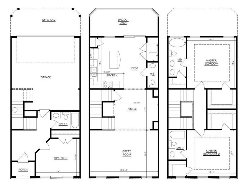 Highland Iii Bedrooms Floor Plans Regent Homes
