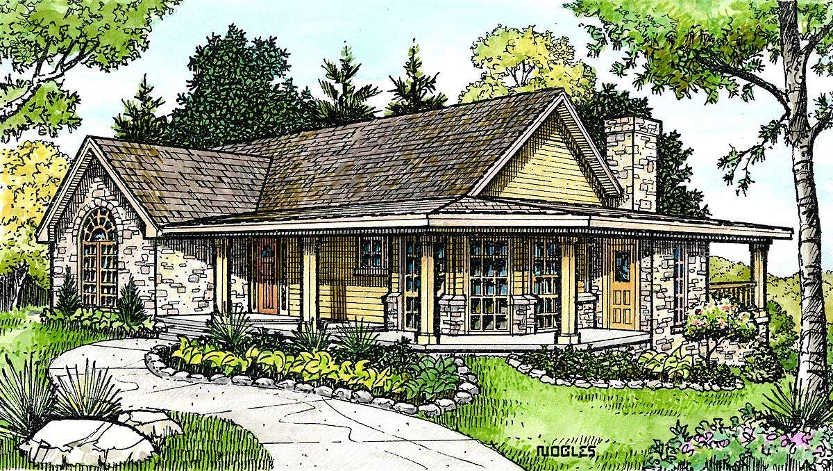 Hill Country Cottage Floor Master Suite