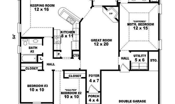 Hillary Mill One Story Home Plan House Plans