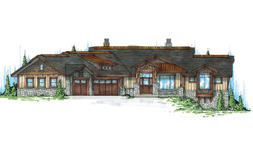 Hillside Home Plans Designs Sloped Lots Floorplans