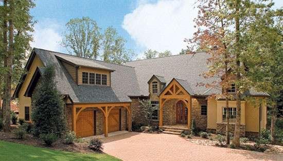 Hillside Home Plans Walkout Basement House Design