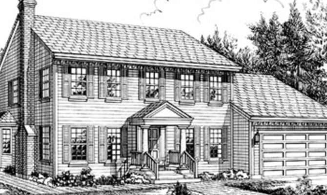 Hip Roof Colonial House Plans Unique Home Floor
