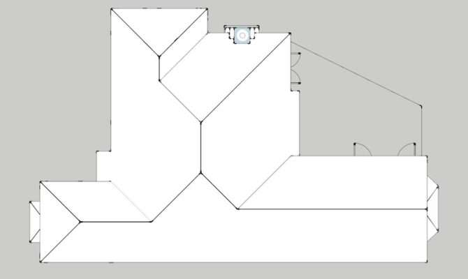 Hip Roof Design Plans Looking Plan