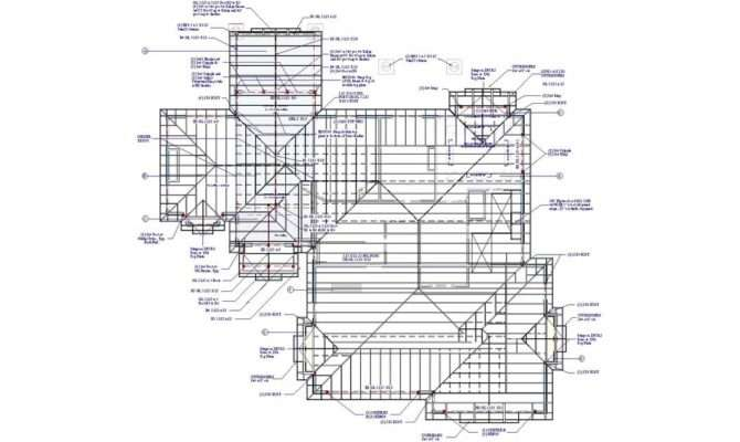 Hip Roof Framing Plan Architecture Plans