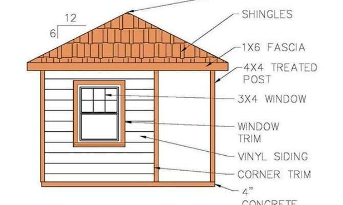 Hip Roof Shed Plans Blueprints Cabana Style Homes