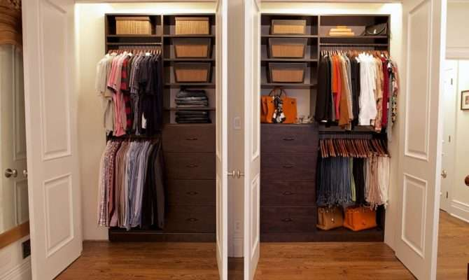 His Her Master Closet Makeover Complete Restructuring