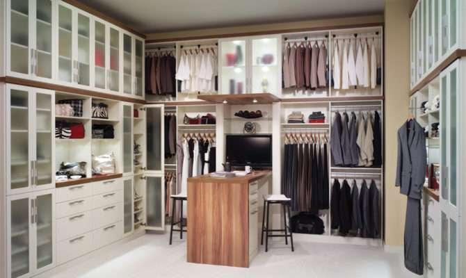 His Hers Modern Walk Closet Mckee Organizing