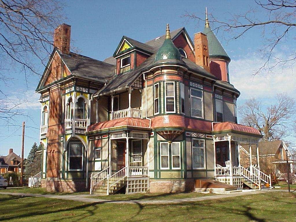 Historic Queen Anne Victorian Mansion Market Reduced Price