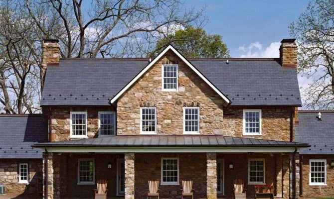 Historic Stone House Preservation Middleburg Architect