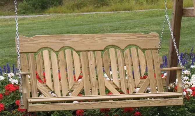 Home Accessory Porch Swing Project Plans