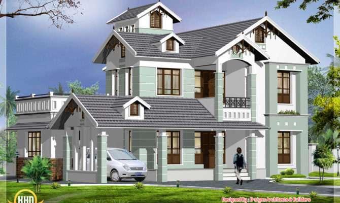 Home Architecture Plan Kerala Design Floor Plans