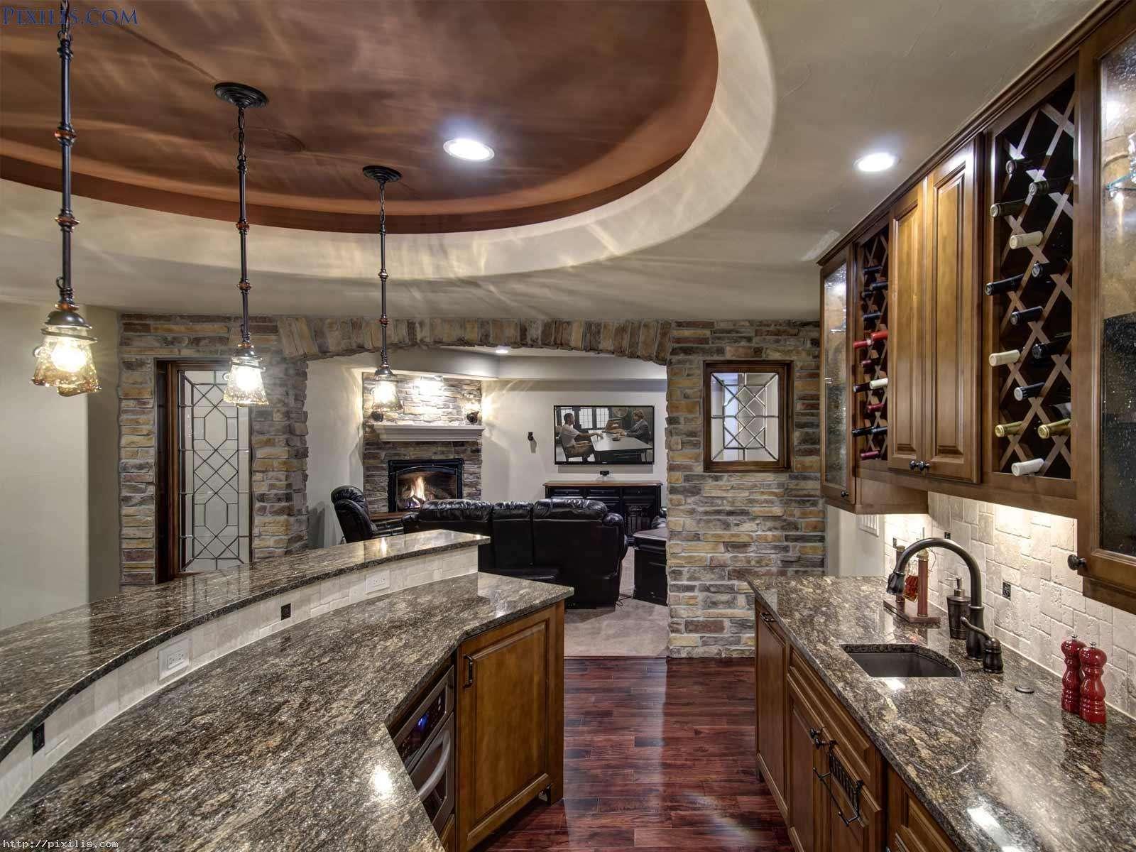 Home Bar Countertop Ideas Design