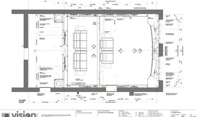 Home Cinema Design Plans Due Piotton