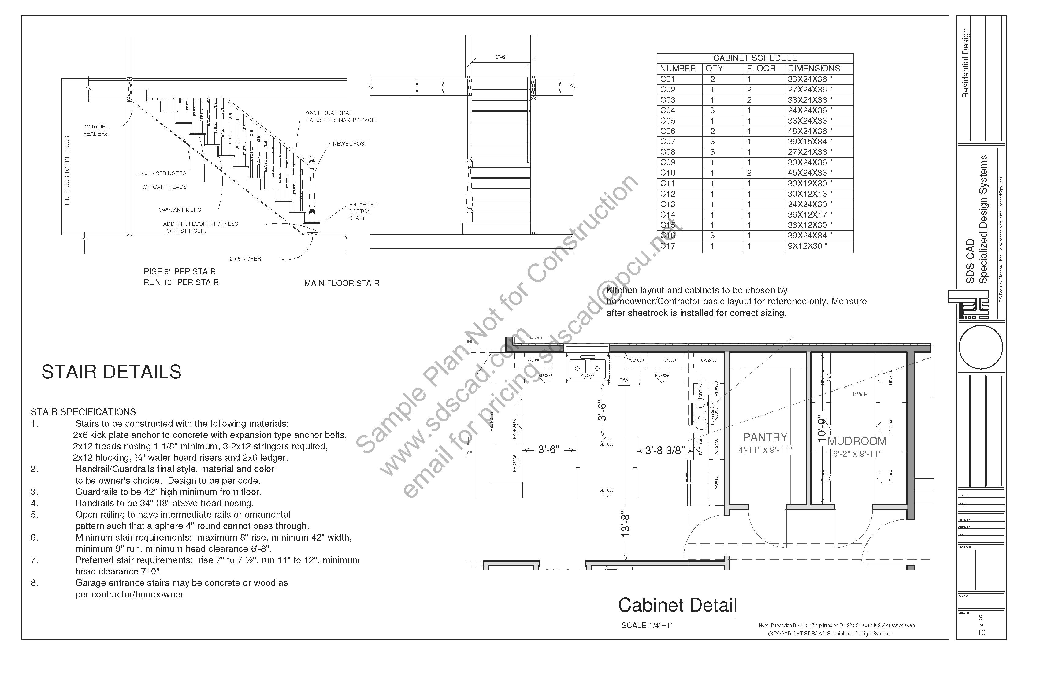 Home Construction Blueprints Country Cottage Ehouse Plans