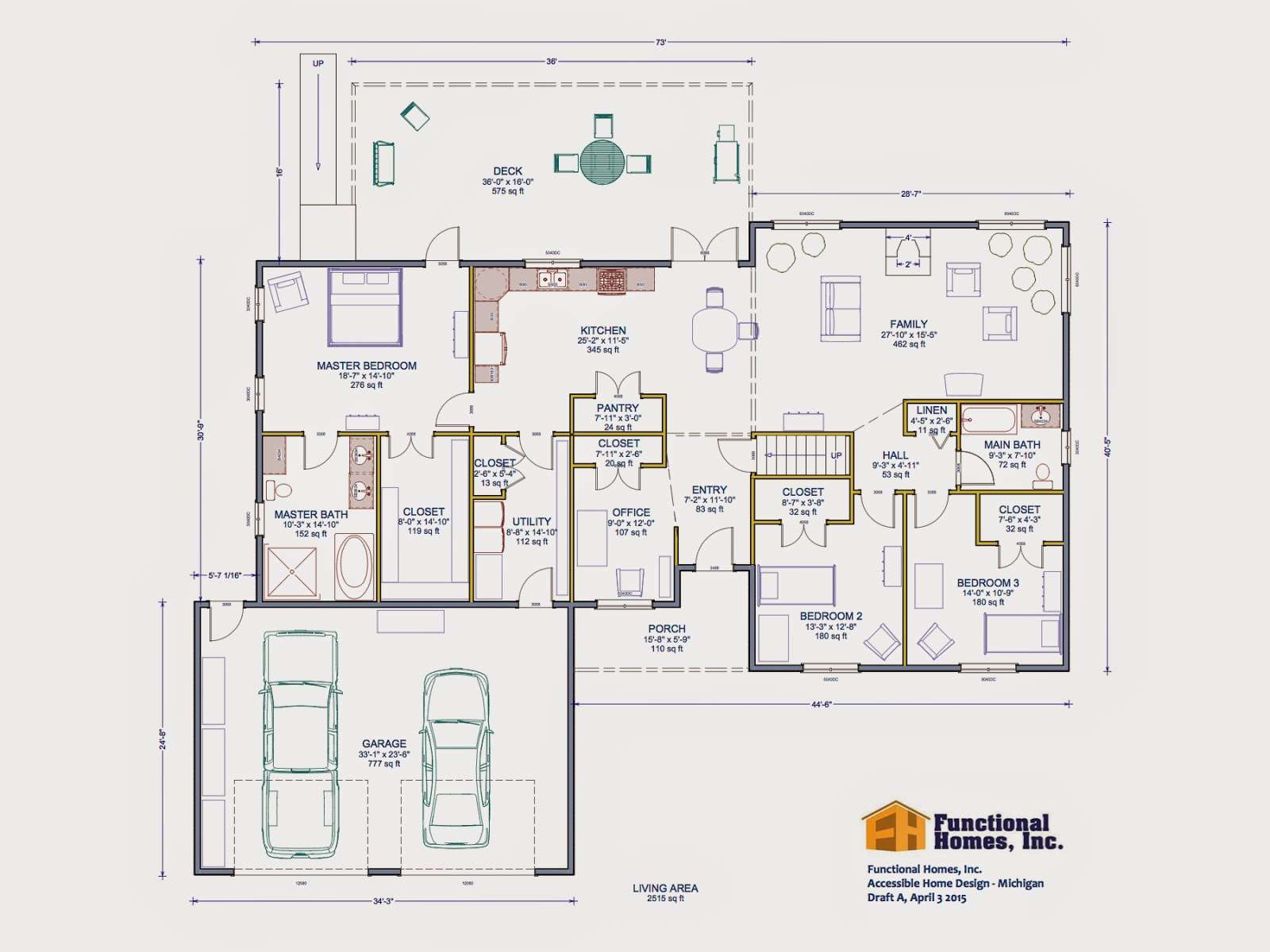Home Decorating Floor Plans Handicap Accessible Homes
