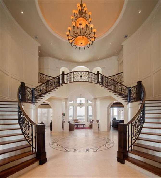 Home Decoration Design Luxury Interior Staircase