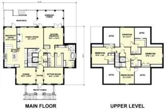 Home Design Cottage House Plans Architecture
