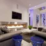 Home Design Great Modern Living Room Lighting