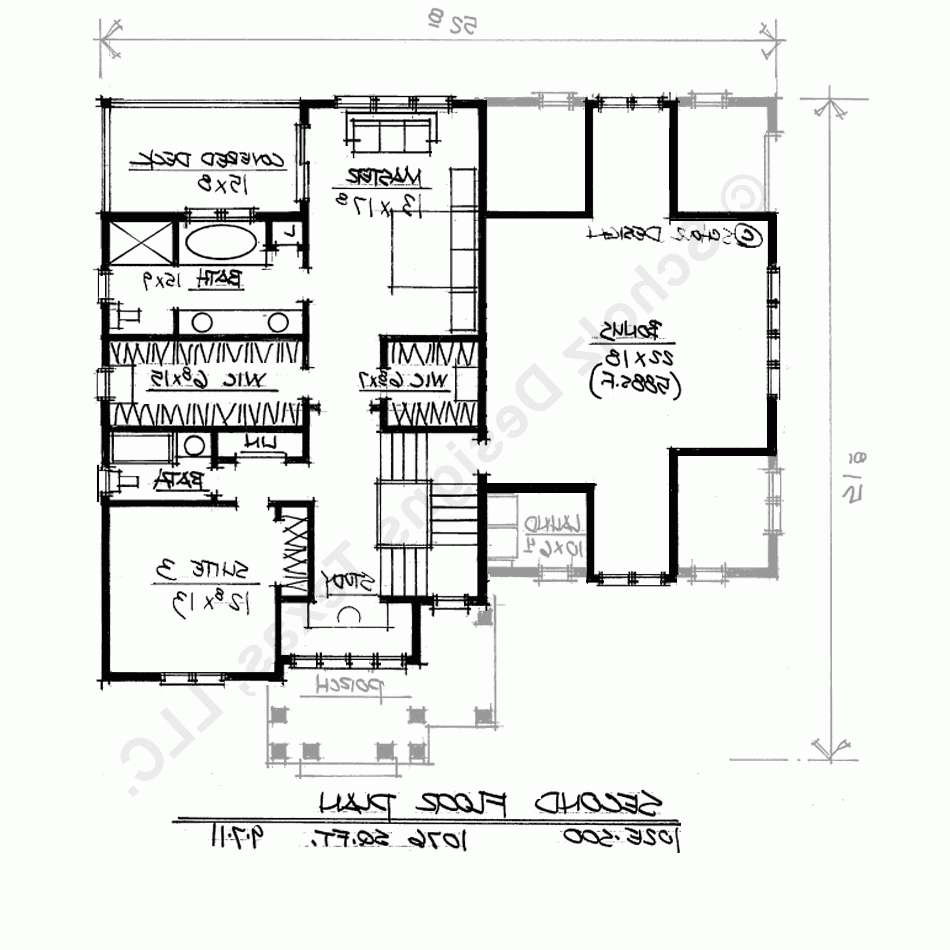 Home Design Planbedroom House Plans Two Master Suites