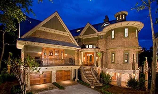 Home Designs Eclectic Brick Wall Exterior Custom Dream Homes Design
