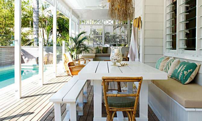 Home Designs Fascinating Small Porch Caribbean Style