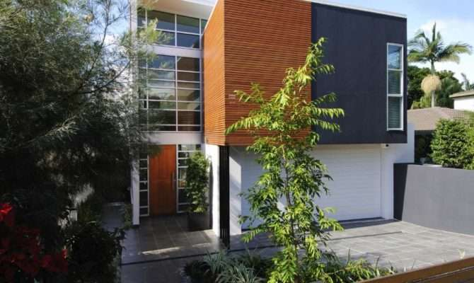 Home Designs Narrow Blocks Don Compromise